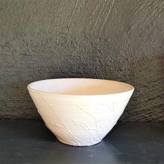 vit skål